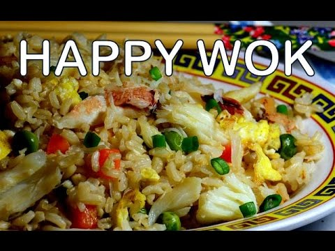 Fried Rice with Crab's Meat : Authentic Chinese Cooking.