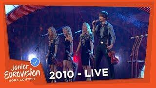 Alexander Rybak - Europe's Skies - Interval Act - Junior Eurovision Song Contest 2010
