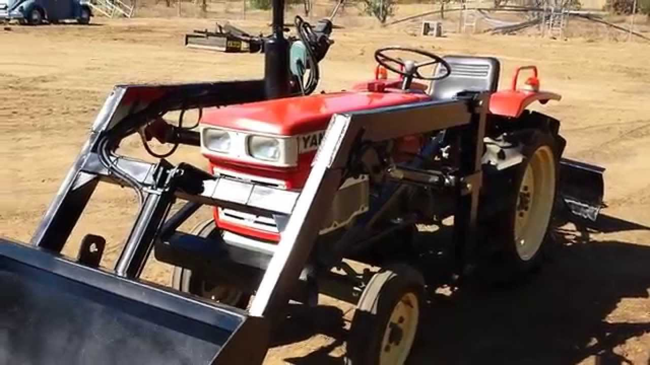 Yanmar YM1500 Used Compact Tractor for sale - YouTube
