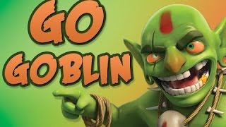 All Goblins with all Rage spells!! - Racing Goblins? Clash Of Clans
