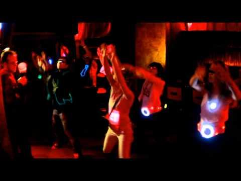 Прикольный Flashmob в московском клубе