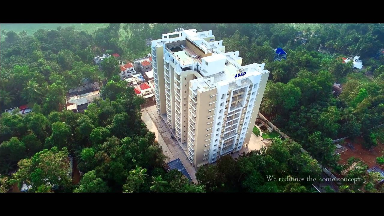 Luxury Flats In Kottayam Apartments Abad Royal Gardens
