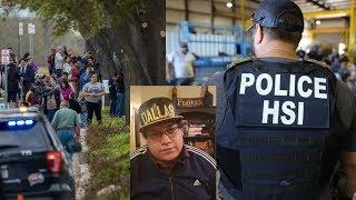 Detalles sobre la redada de ICE en Allen Texas, mas de 280 immigrantes arrestados y mi opinion.