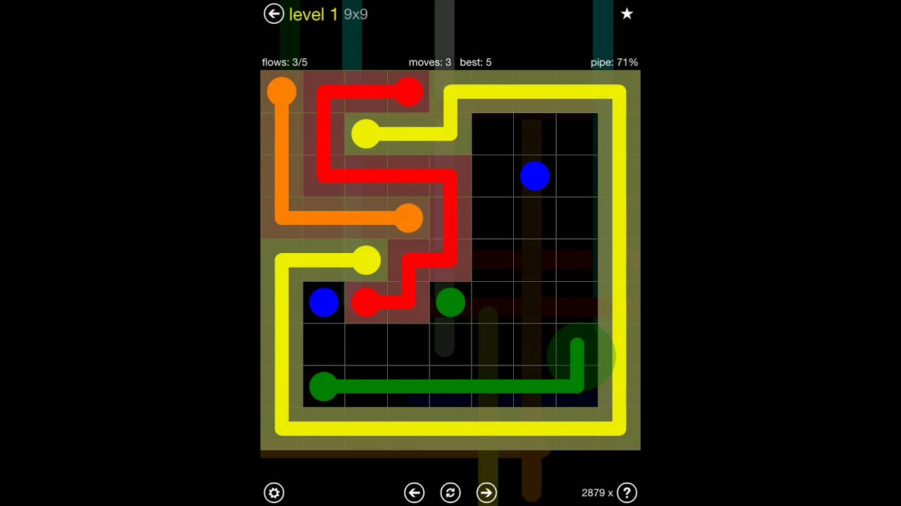 flow free extreme pack 2 9x9 level 1 youtube