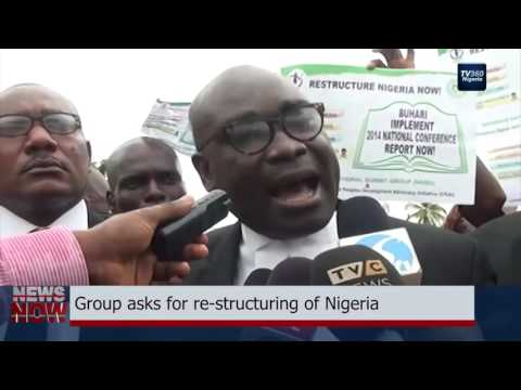 Group asks for restructuring of Nigeria