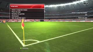 PES 2014 PC online ranked match: Manchester United VS FC Barcelona