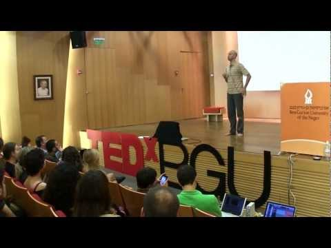 Contact Improvisation: An Intuitive, Non-Verbal and Intimate Dialogue: Itay Yatuv at TEDxBGU
