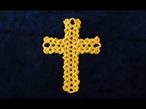 How To Crochet A Cross Pattern 714by Thepatternfamily Youtube