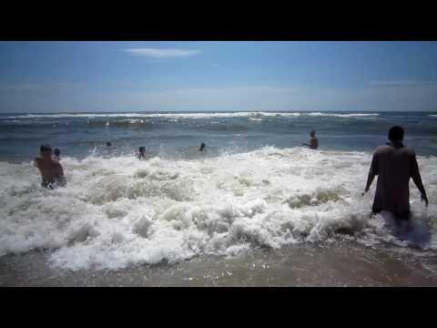 A Day at Jones Beach, New York