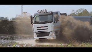 новый TATRA PHOENIX 8х8 с нереальной проходимостью!Truck Tatra 815 8x8-DAF.вездеход самосвал  4х4