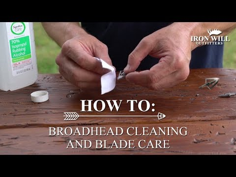 How To: Broadhead Cleaning and Blade Care