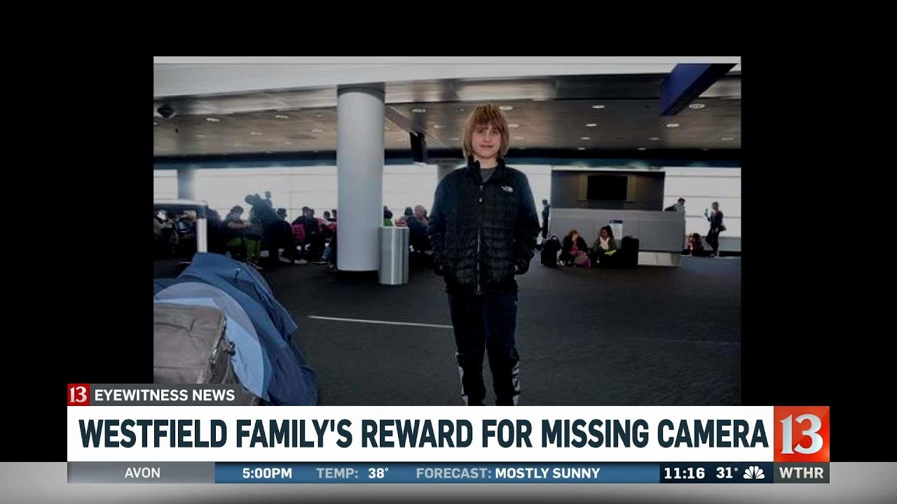 Westfield family hoping to find lost camera