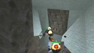 Descent 2 Level 16 - Ice Boss Fight (no camping)