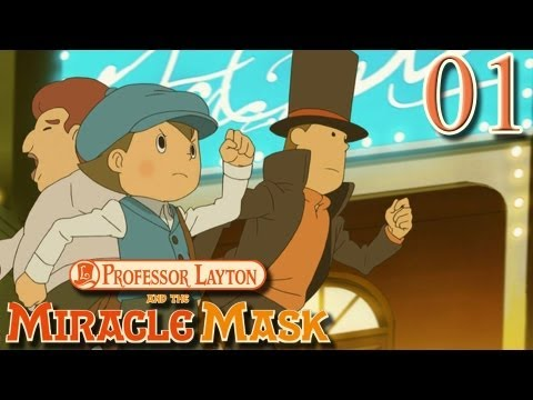 Professor Layton and the Miracle Mask - Part 1