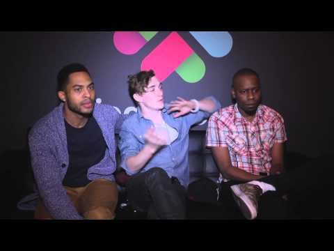 Brandon Bell, Kyle Gallner and Malcolm Barrett on the authenticity & humor of 'Dear White People'