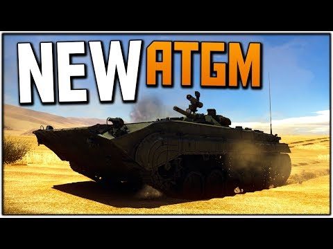 BMP-1P NEW ATGM MISSILE (WT RB Gameplay)