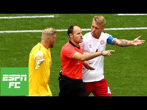Denmark 1-1 Australia: how controversial VAR decision changed the game | ESPN FC
