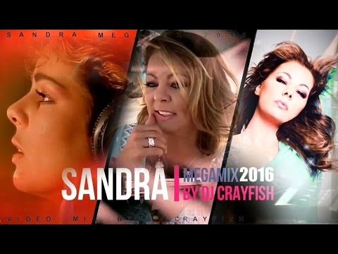 SANDRA - Megamix 2016 ♛ The Very Best Of ♛ 55 Songs (1985-2016) DJ Crayfish Mix 4