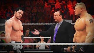 WWE 2K17 My Career Mode -