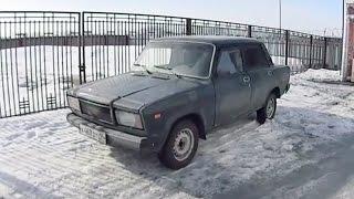 АВТОХЛАМ. ВАЗ-2107 под утиль / NICE-CAR.RU