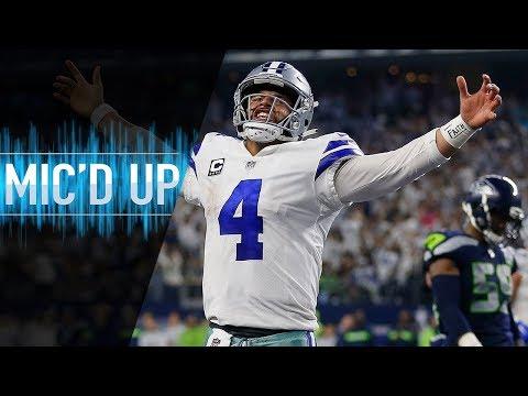 Seahawks vs. Cowboys Mic&#;d Up Revenge Game! (NFC Wild Card)
