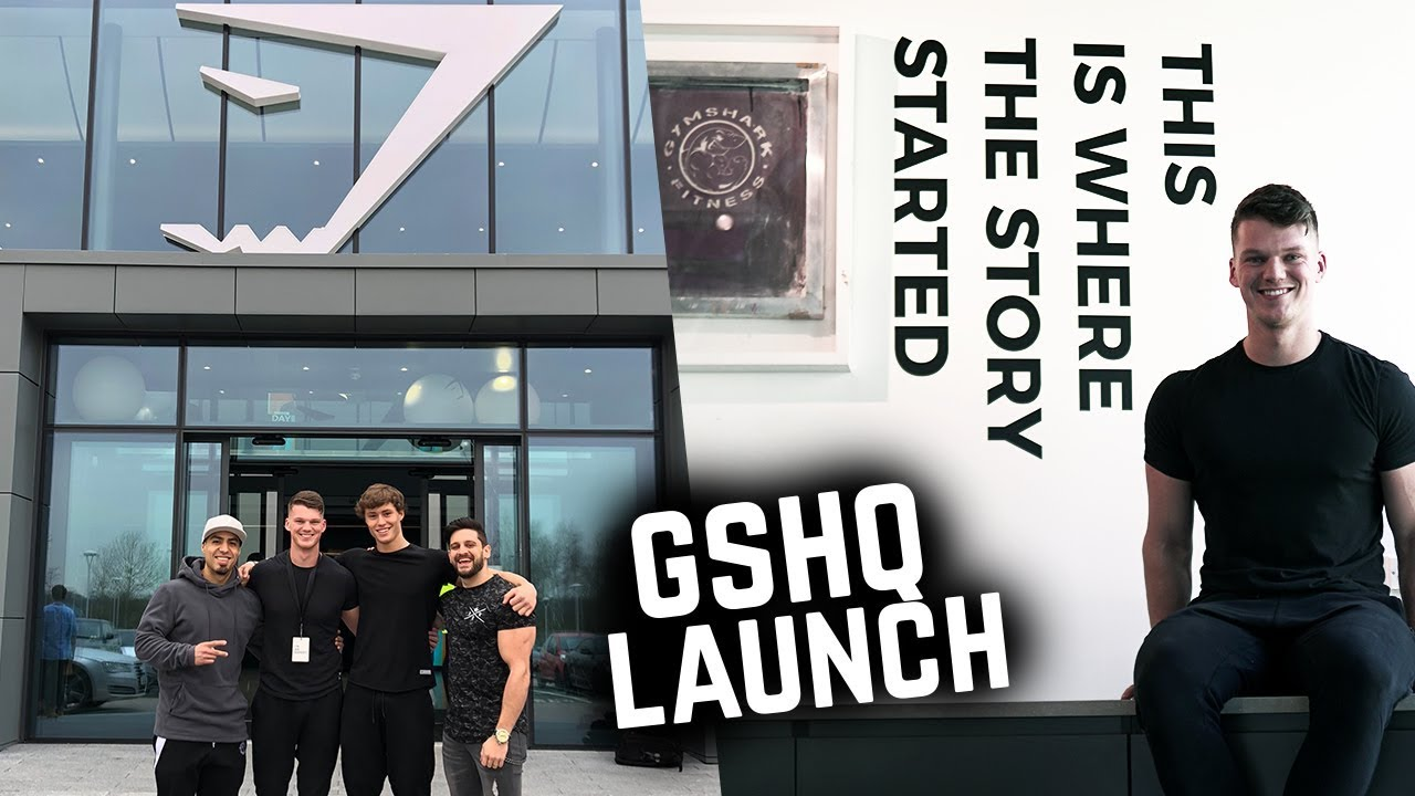 Welcome To Gymshark S New Headquarters Gshq Launch Day Youtube