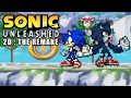 Sonic Unleashed 2D : The Remake Demo #1 - Gameplay & Character Showcase