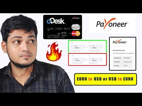 How To Convert From EURO To USD Or USD To EURO To In Payoneer