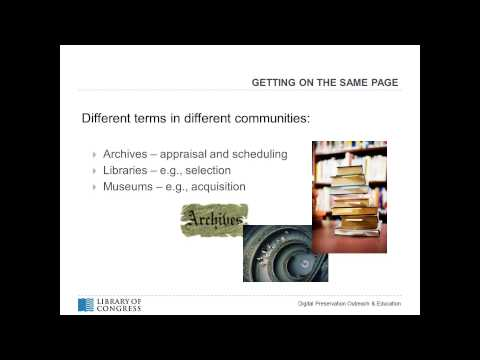 The Art of Selecting Digital Content to Preserve