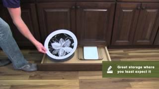 Schuler Cabinetry: Toe-kick Drawer, Kitchen Storage Part 11