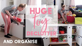 TOY DECLUTTERING AND ORGANISATION | THIS MAMA LIFE