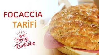 İtalya'yı Evinize Getirecek Focaccia Tarifi | İtalyan Ekmeği Nasıl Yapılır?