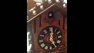 Antique Mantel Cuckoo Clock From Carlton Clocks