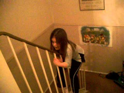 The Silly Railing Girl Youtube