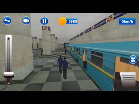 Let's play - Moscow Subway Train Simulator in 3D/ iOS and Android