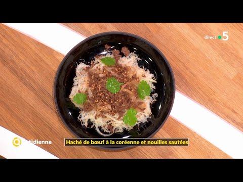 coup-d'food-:-haché-de-bœuf-à-la-coréenne-et-nouilles-sautées---la-quotidienne