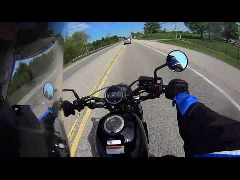 Honda Rebel 500 First Ride from the dealership