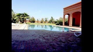 villa for sale in Marrakech  villa a vendre sur 5000 m² du terrain