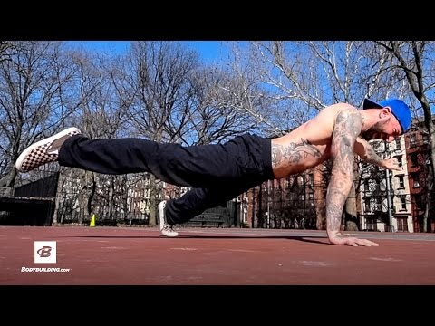 Five Ways to Progress Your Push up for Beginners | Al Kavadlo