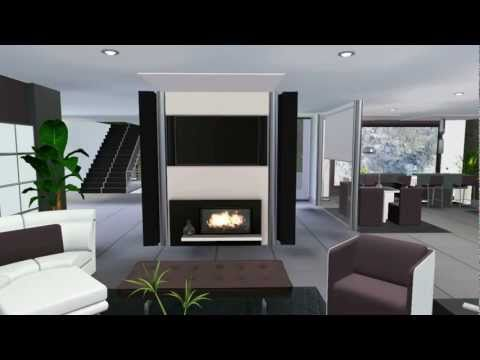 Sims 3 Celebrity Luxury House Vr .2 Modern Design