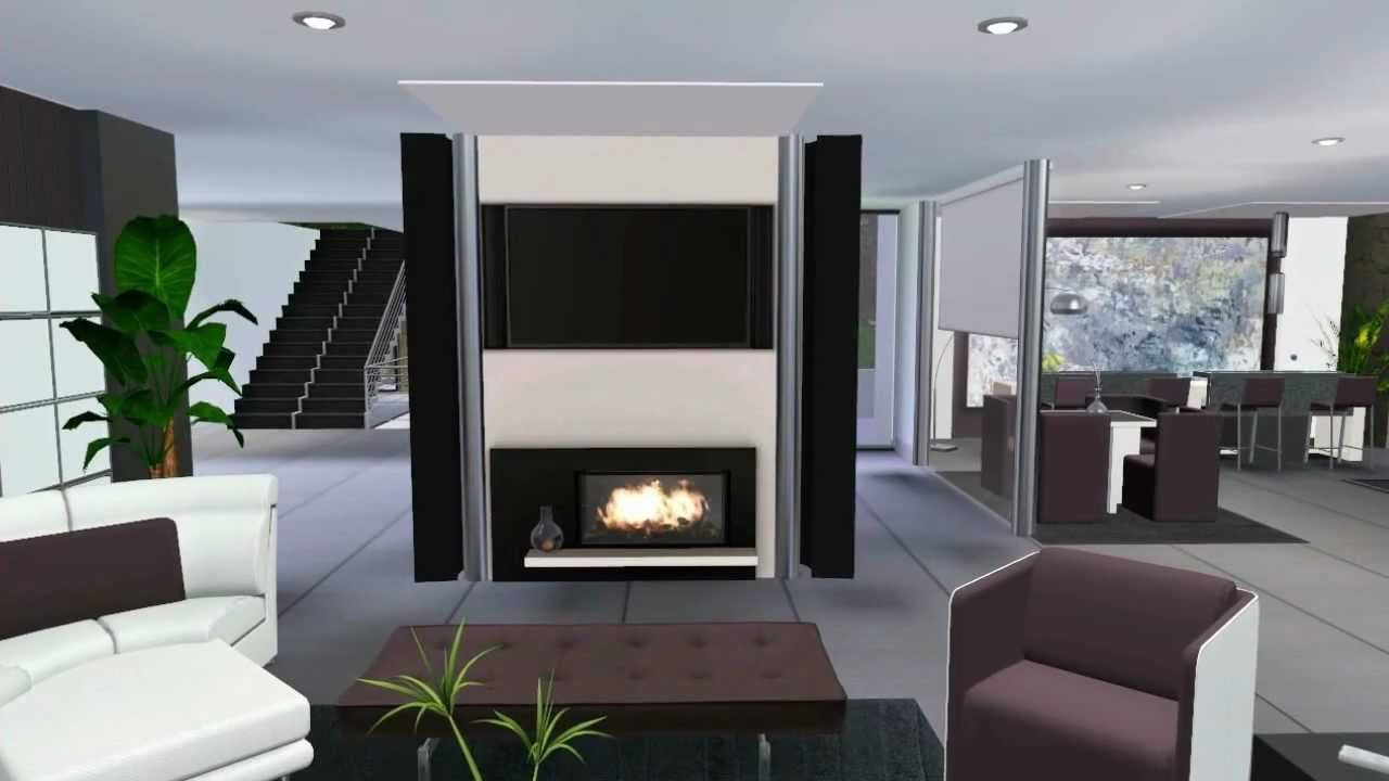 Sims 3 Celebrity Luxury House VR  2  Modern Design    YouTube. Designer Luxury Homes. Home Design Ideas