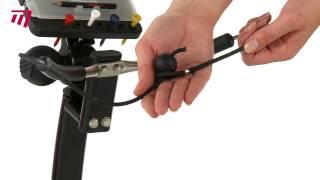 masters icart zero 3 wheel push trolley