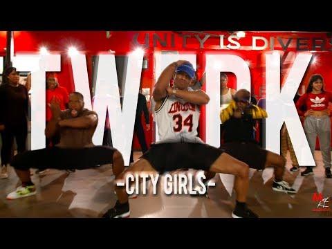 "City Girls - ""Twerk""   Phil Wright Choreography   Ig : @phil_wright_"