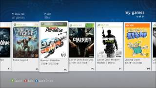 How to install xbox 360 games on hard drive