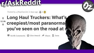 Truckers Reveal the Scariest Things They've Seen on The Road | r/AskReddit thumbnail