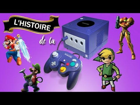 L'histoire de la Gamecube