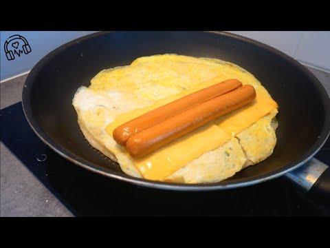 台式蛋餅|asmr-料理|蛋奶素|crêpe-taïwanaise-aux-oeufs-|-taiwanese-omelet|cooking-sounds
