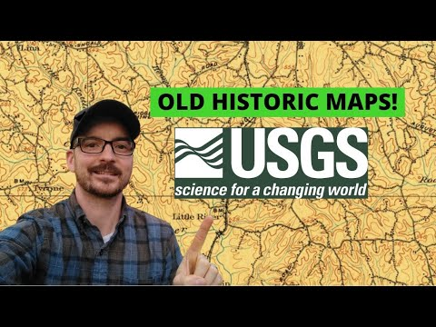 The Best Historic Maps I've Seen! USGS Historical Maps!