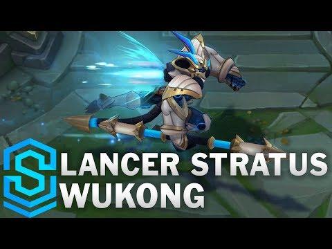 Lancer Stratus Wukong Skin Spotlight - League of Legends