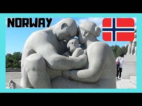 OSLO: The Very Bizarre (weird) Statues 😲 Of Vigeland Park 🏞️, Norway